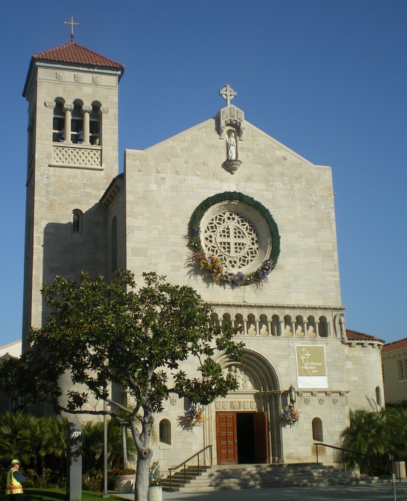 St. Monica Catholic Church Building Image image